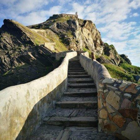 Escalera de piedra de San Juan de Gaztelugatxe